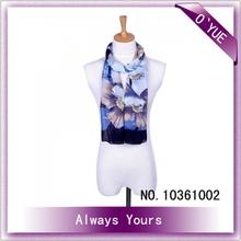 Multi Wear Pashmina Flower Pattern Scarf Shawls