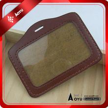 OEM customized wholesale leather card holder