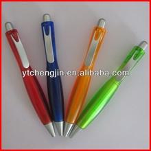 Best selling popular cheap plastic pens/plastic roller pen