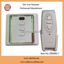 ZRM86-1,220V/110V,Wireless Curtain Wireless remote control,1CH/2CH,electrical curtain Remote control system