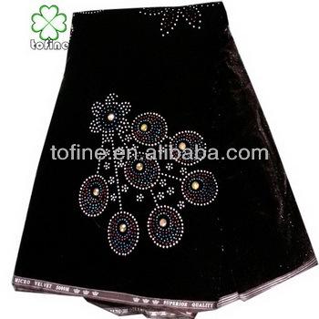 velvet net lace fabric