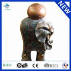Fine art Polyresin home decoration elephant statues