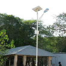 yingli solar panels 60000hrs CE RoHS UL sun power led street ilght 10w -100w