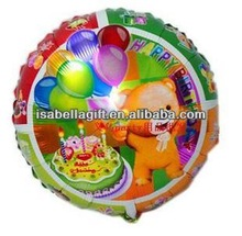 China manufacture New product cartoon helium foil hot air balloon cheap price