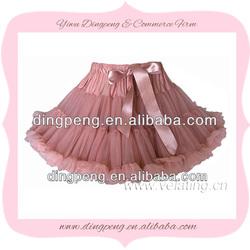 vintage pink tutu blossom pettiskirt wholesale costume princess petticoat skirt chiffon skirts tutu