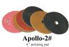 Apollo Premiun Stone Polishing Pads Diamond Resin Polishing Pad