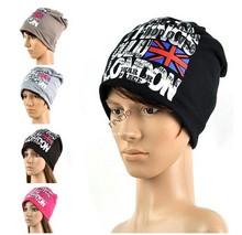 2014 NEW Fashion Unisex Men/Womens Chic Slouchy Double Layer Ski Skull Cap Beanie Hats 18973