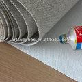 Kalite astar orta doku keten karışımı tuval resminin fiyat, astarlanmış kanvas kumaş boyama