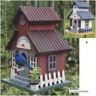 2014 new design wood birdhouses