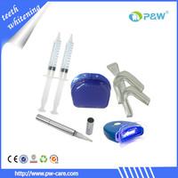 Europe market hot sale Sodium perborate teeth whitening kit with non peroxide gel