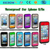 2014 New high quality 100% waterproof for iphone 5/5s design mobile phone case