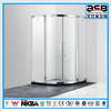 fashionable stainless steel Glass acrylic shower enclosures