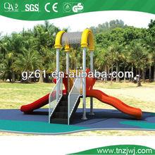 children outdoor playset plastic slide equipment