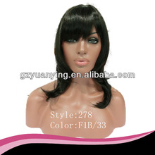 Factory price model model hair wigs for black woman