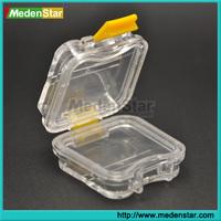 Easy Use Transparent Dental Box / Denture Box DMB18