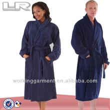 Wholesale Unisex Warm Fleece Bathrobe