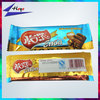 Attractive fin seal bag chocolate bars wrapping film packaging