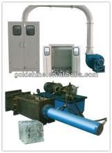Aluminium foil container scrap collecting machine and baler(CE certificate)