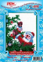 Santa Claus Decorates A Christmas Tree - Newest Cross Stitch Kit DIY cross stitch Sets 100% Cotton Threads cross stitch kits