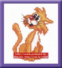 Red Cat - Newest Cross Stitch Kit DIY cross stitch Sets 100% Cotton Threads cross stitch kits