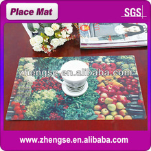 Hot Selling Nice Design Apple-shaped Bamboo Placemats Wholesale