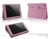 9.7 inch leather cover for ipad stand case with wake up/sleep function