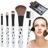 Spots Patterned Cosmetic Make-up Brush set Free shipping
