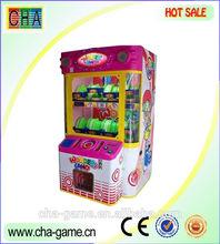 Attractive happy play prize game machine wonder land