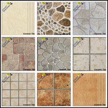 los diferentes tipos de exterior rústico del azulejo del piso