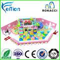 Modular moderno crianças interior equipamentos de playground de madeira