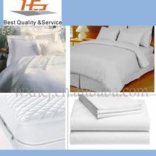 100% cotton super soft plain white bedspreads