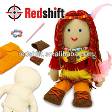 Educational toy Create your doll kit diy doll Indiana