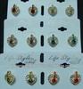 Fashion jewelry rhinestone stud earrings wholesale supply