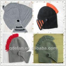 knitted hat knight helmet crochet knight helmet helmet for babies