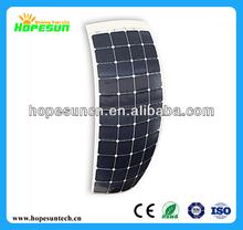 Low price per watt solar panels 135W semi flexible solar panel