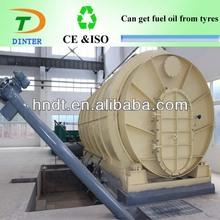 2013 Dinter pyrolysis equipment convert nylon tire into crude oil