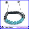 Hot Sale New Fashion Custom Wholesale Magnetic Shamballa Bracelet list for jewelry