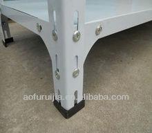 Economical & Practical OEM Metal Display Racks/Slotted Angle Shelf