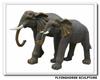 ES-005 Fiberglass Life Size Elephant Statues, Elephant Statues