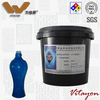Functional glass coating with high adhesion bright color high temperature resistant low price