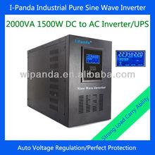 Solar energy adjustable voltage DC to AC 2000VA 1500W 24V 48V (optional)