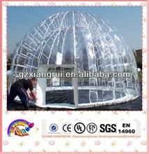 2013 evento inflável clara tenda bolha para venda