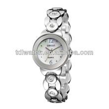 W4764 Fashion Charming lady watch Fashion design Elegant ladies watch purple flower girl sharp watch