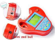 2014 Top sale for mini zedbull key programmer smart zed-bull obd2 transponder key programmer mini zed bull