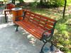 Metal garden furniture sholesale outdoor backyard wood bench seat