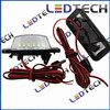 auto car parts led license plate lamp with brake system