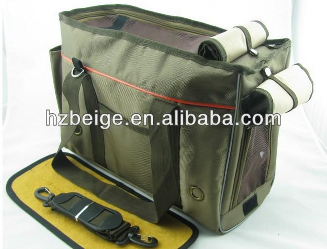 Waterproof pet dog bag bed pet carrier bag manufacturer China