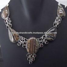 Hot Sale Panpaliya Brand Group Silver Plated Necklace