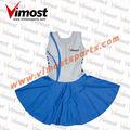 100% azul de poliéster de tenis de vestir uniformes