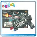 B/o pistolet jouets, mission de combat l'impression,/o militaire. pistolet jouets en plastique pour les enfants